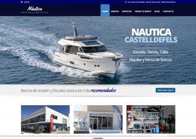 Proyecto pagina web Náutica