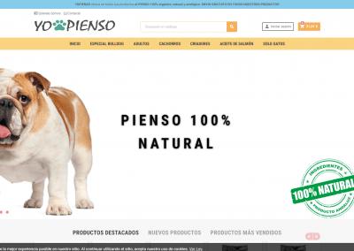 Proyecto Tienda Online de Piensos naturales