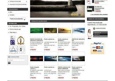 Tienda Online de cursos de peritos