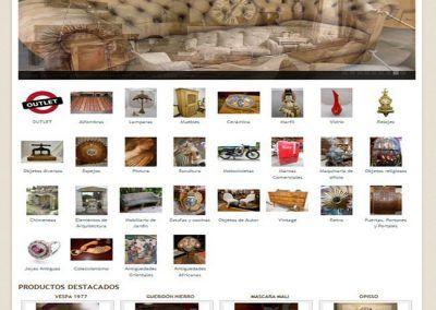Tienda Online en Antigüedades