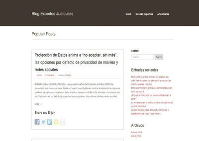 Blog de Expertos Judiciales