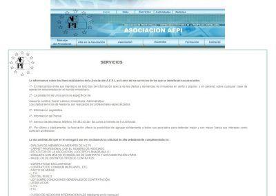 Proyecto de Asociación AEPI