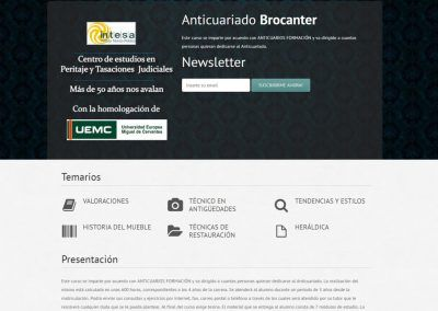 Curso en Anticuario Brocanter