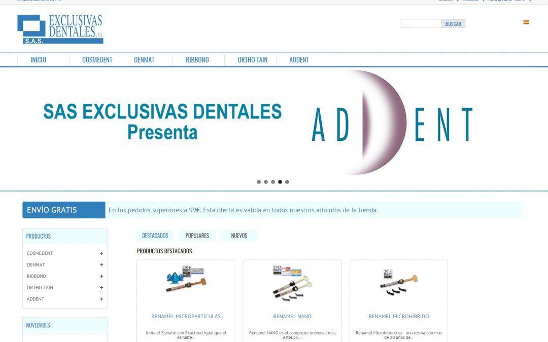 Tienda online de distribución de odontología