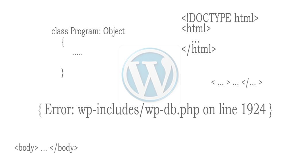 Error wp-includes/wp-db.php on line 1924