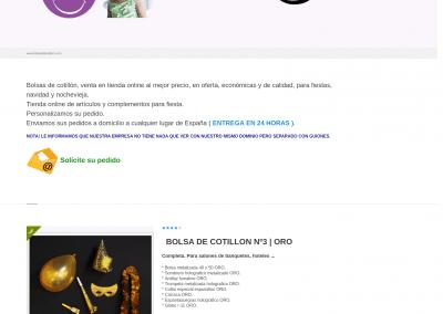 Proyecto web simple para venta