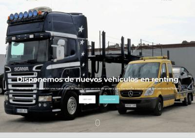 Landing Page para empresa de transportes