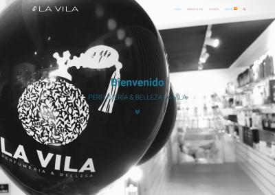 Proyecto página web perfumería