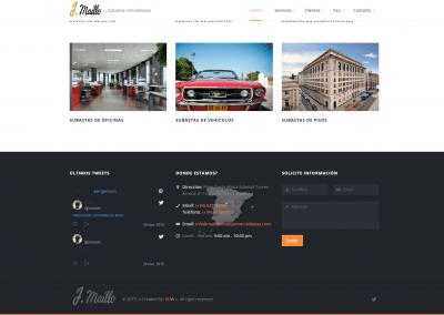 Proyecto pagina web empresa subastas