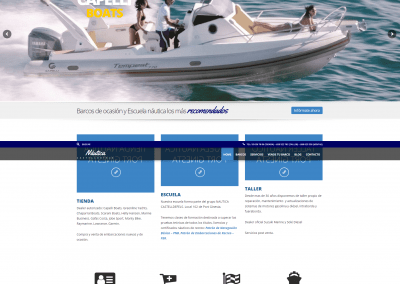 Proyecto empresa de Barcos