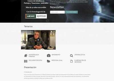 Proyecto Curso Perito en Criminalística