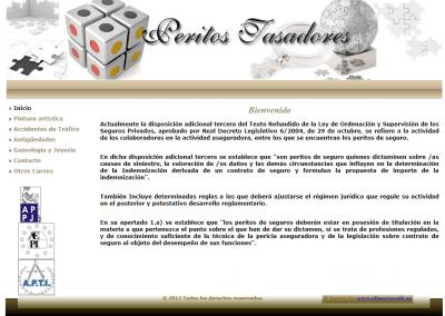 Proyecto web cursos de tasadores