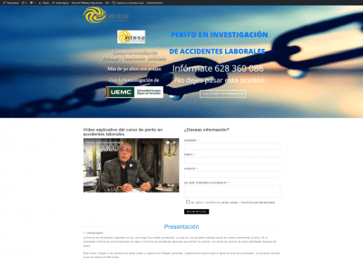 Actualización web curso investigación octubre 2018