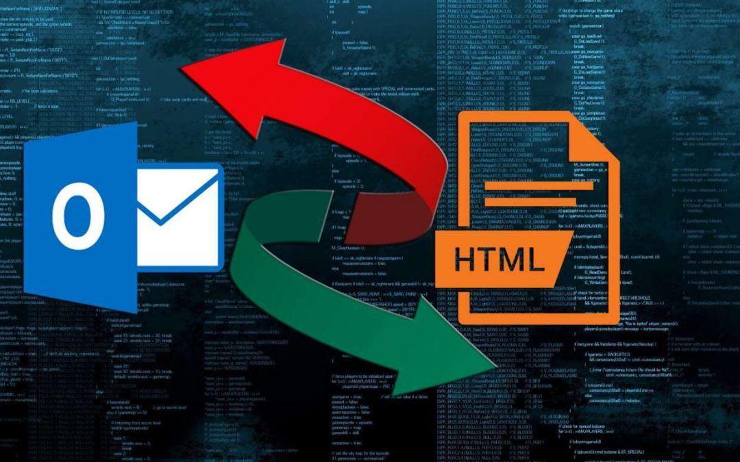Como añadir página HTML en Microsoft Outlook (2016)
