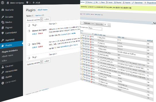 Desactivar plugins de WordPress desde PHPMyAdmin