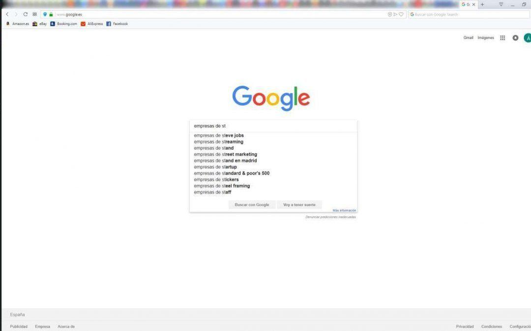 Es importante para el SEO activar las sugerencias de búsqueda?