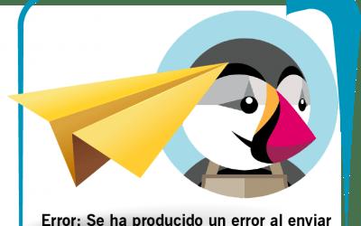 Error: Se ha producido un error al enviar el correo electrónico al cliente. (Prestashop)