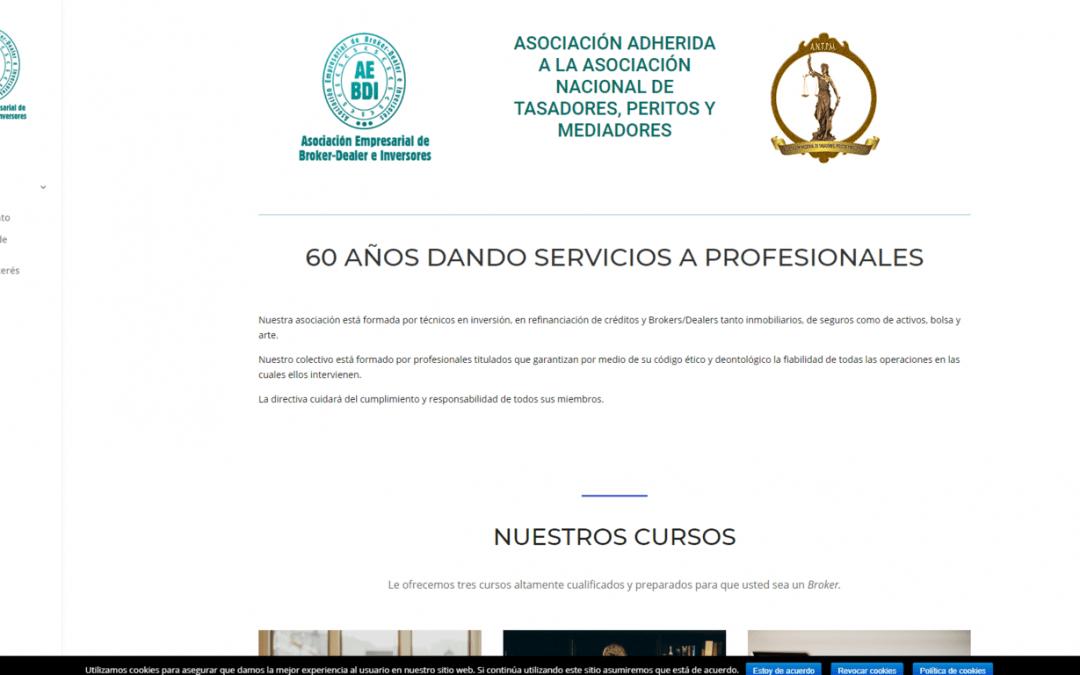 Página web actualizada de Asociación de BrokerDealer