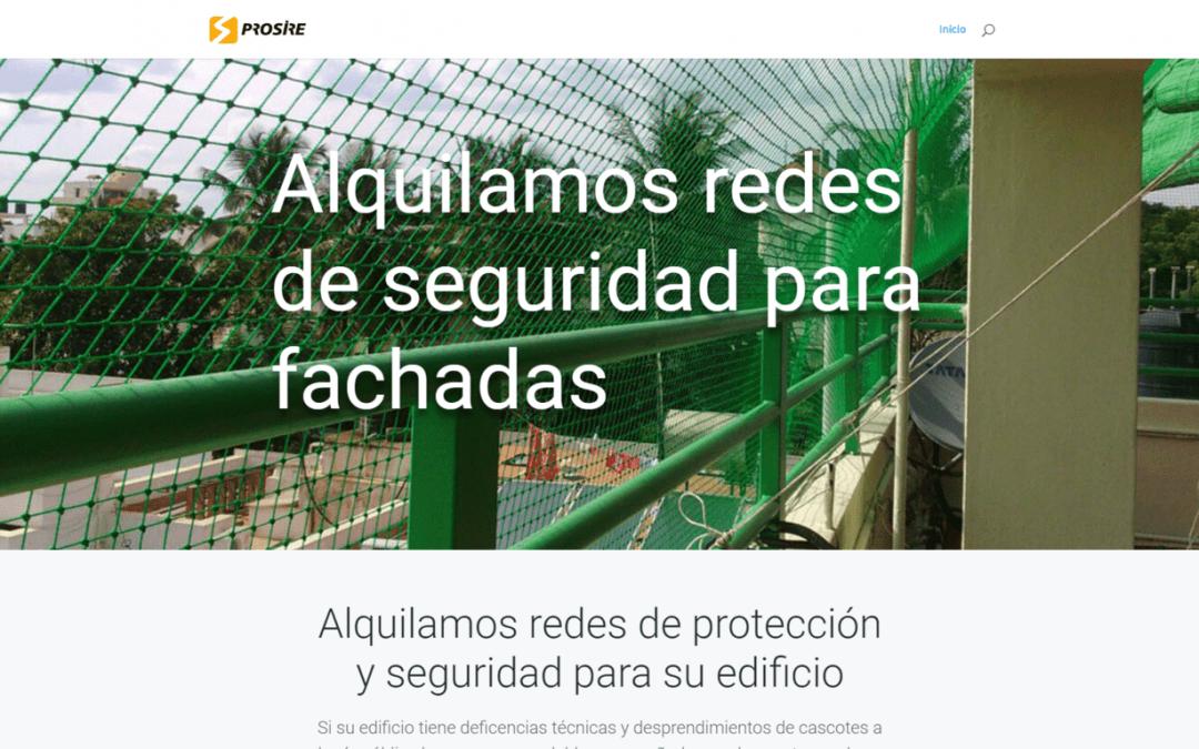 Proyecto Web empresa de seguridad de fachadas