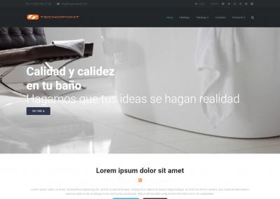 Proyecto Web empresa sanitarios (Panamá)