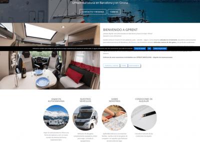 Página web alquiler autocaravanas