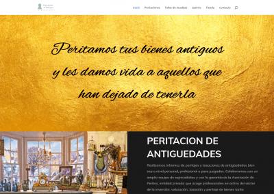 Página web taller restauración de muebles