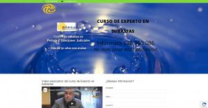 Pagina web Curso de Experto en Subastas
