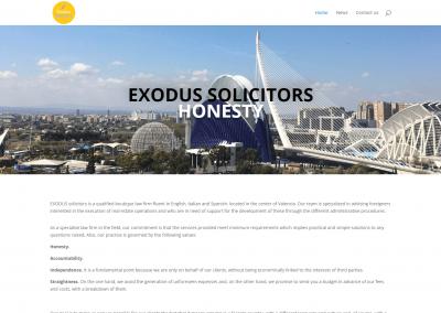 Página web despacho de extranjería
