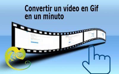 Convertir un vídeo en Gif