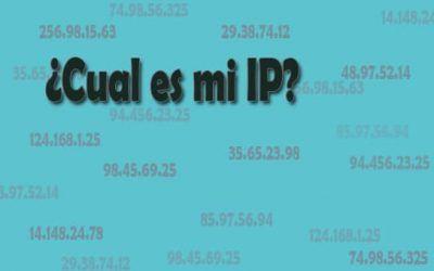 Como saber mi IP