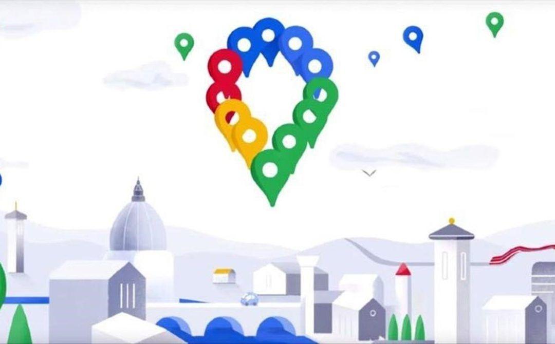 Imagen del nuevo logotipo de Google Maps
