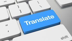 Translation - Computer keyboard